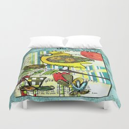 Be Resourceful Duvet Cover