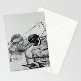 Pintail Pair Stationery Cards