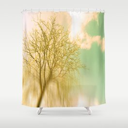 Impermanence Shower Curtain