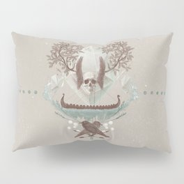 Ghosts of Scandinavia. Iceland. Pillow Sham