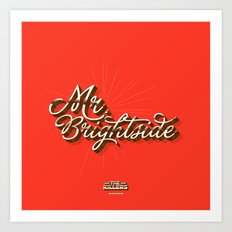 Mr. Brightside Art Print
