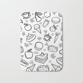 Fun Food Bath Mat