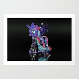 colo painting Art Print