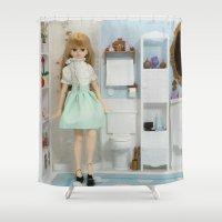 bathroom Shower Curtains featuring Bathroom by ♥  Little Enchanted World ♥