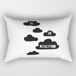 Él ha resucitado, prints cuadros decorativos Rectangular Pillow