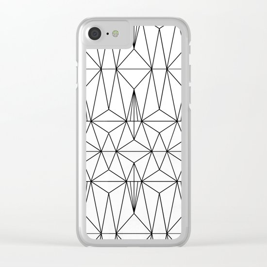 My Favorite Pattern 1 Clear iPhone Case