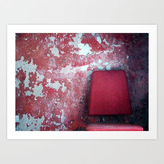 Sit down Art Print