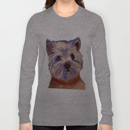 West highland terrier Westie dog love Long Sleeve T-shirt