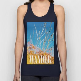The Colors of Fall Unisex Tank Top