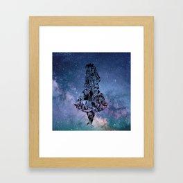 Alice in the Sky Framed Art Print
