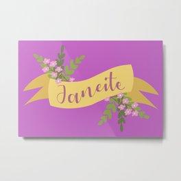 Janeite I Metal Print