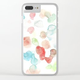 170722 Colour Living 27 Clear iPhone Case