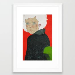 Geiko of the Universe Framed Art Print