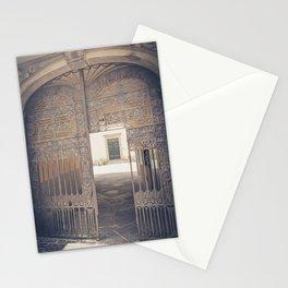 Door in Door Lucca italy tuscany Stationery Cards
