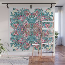 Blossoming Mandala Wall Mural