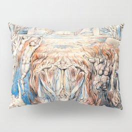 "William Blake ""The Day of Judgment"" Pillow Sham"