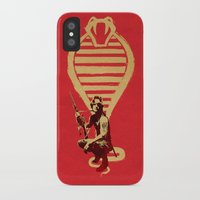 snake iPhone & iPod Cases featuring Snake by Robert Farkas