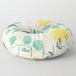 Lemon Party Floor Pillow