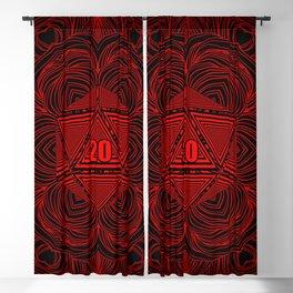 Natural 20 Mandala Backstabbing Rogue Blackout Curtain