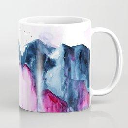 Abstract Indigo Mountains 2 Coffee Mug