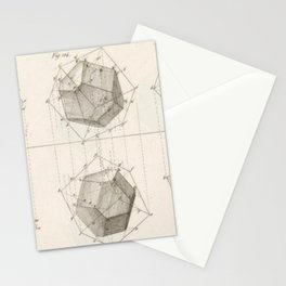 Crystal Geometry Stationery Cards
