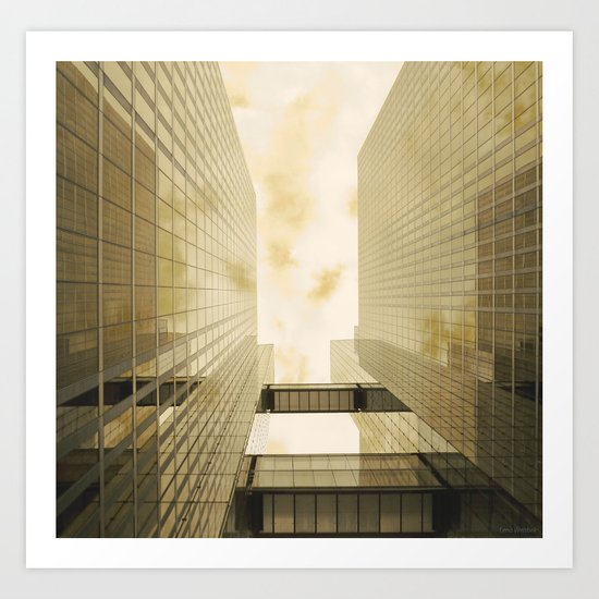 Upwards #1 Art Print