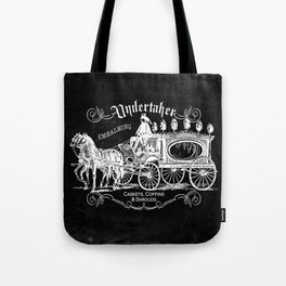 Gothic Undertaker Tote Bag