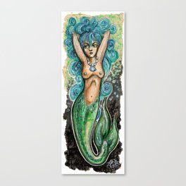 Wanton Mermaid Canvas Print