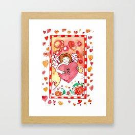 Healed Heart Framed Art Print