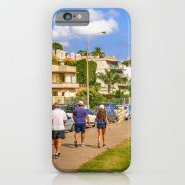 Punta Gorda Neighborhood, Montevideo, Uruguay iPhone Case