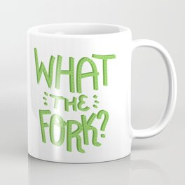 what the fork? (The Good Place) Coffee Mug