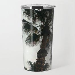 Palm Tree Art Print {1 of 3} | Teal Pastels Topical Beach Plant Nature Vacation Sun Vibes Artwork Travel Mug