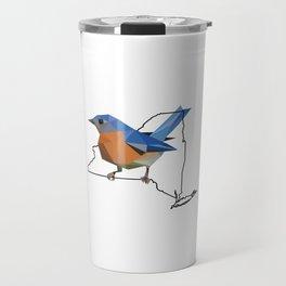 New York – Eastern Bluebird Travel Mug