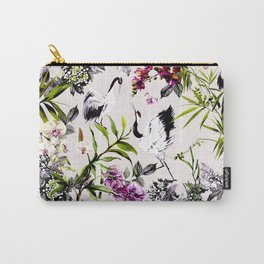 Crane bird in the exotic nature Carry-All Pouch