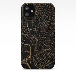 Cambridge map, Massachusetts iPhone Case