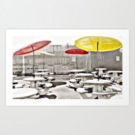 Coney Island Eats Photography Art Print