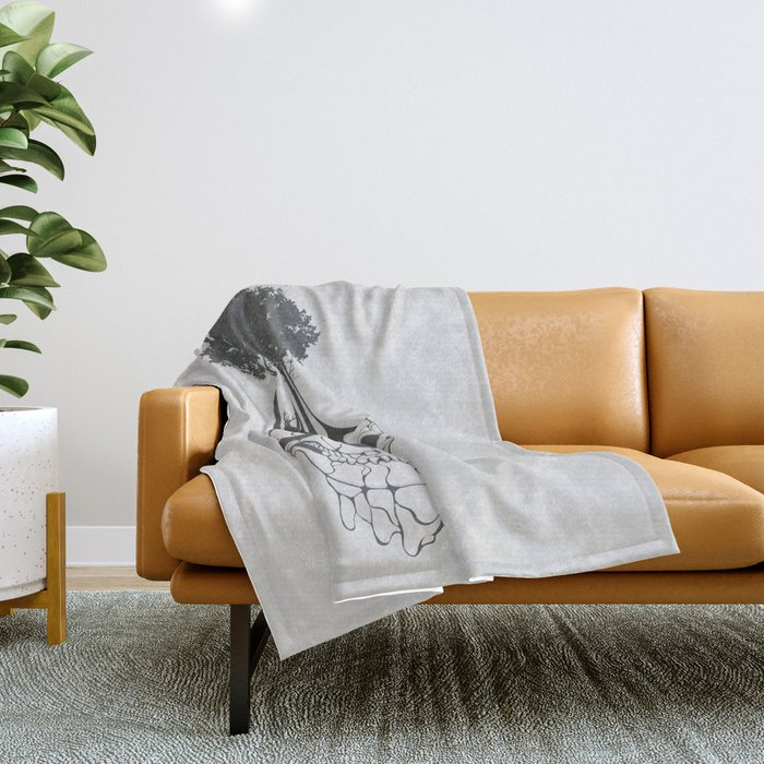 Fossil Throw Blanket