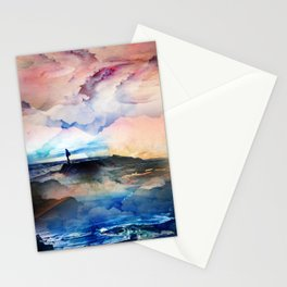I dream deep on a level Stationery Cards