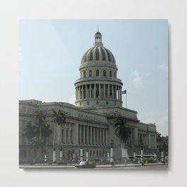 Capitolio, Havana Metal Print
