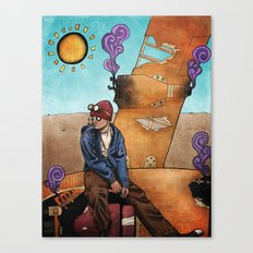 Guess I'll Hitchhike Canvas Print