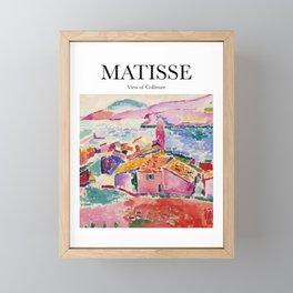 Matisse - View of Collioure Framed Mini Art Print