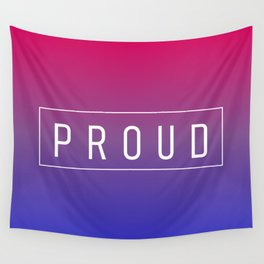 Bisexual Flag v2 - Pride Wall Tapestry