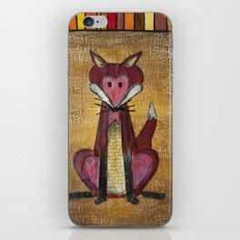 Fox Den iPhone Skin