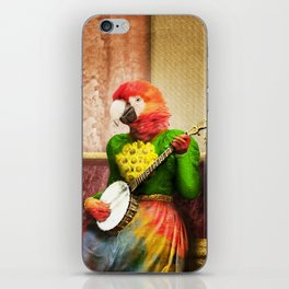 Banjo Birdy Plucks a Pretty Tune! iPhone Skin