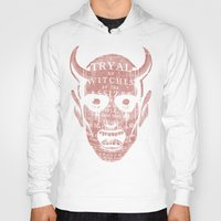 satan Hoodies featuring Satan by Gurven