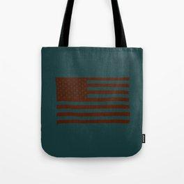 American Flag Fairfax Tote Bag