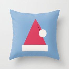 Santa Claus Christmas Hat Throw Pillow