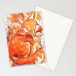 Fox (Spirit of the...) Stationery Cards