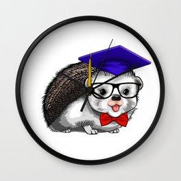 Graduate Hedgehog Class of 2019 Graduation Wall Clock