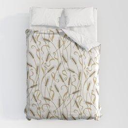 Art Nouveau - Scattered Wheat Duvet Cover